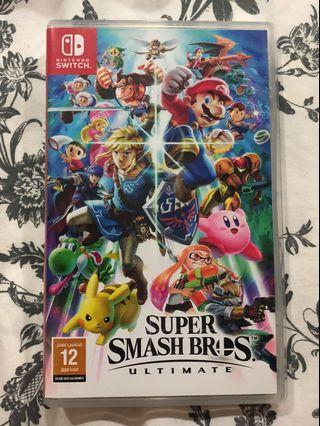 🚚 Super Smash Bros Ultimate Nintendo Switch