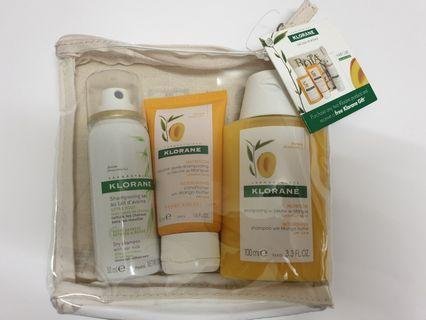 Klorane sample gift pack