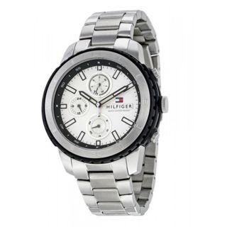 TOMMY HILFIGER Flynn Multifunction Silver Dial Stainless Steel Men's Watch
