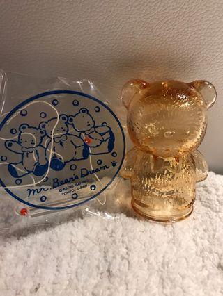 Sanrio vintage mr bear bear's dream 玻璃風鈴