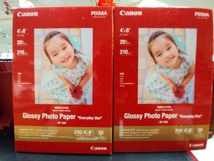 Canon 噴墨照片打印紙