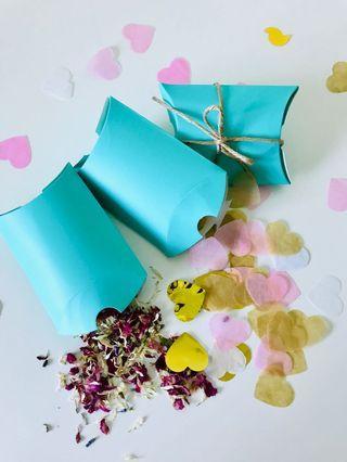 Mint Box Paper Confetti