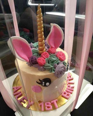 """🦄 unicorn cake 6"""""""
