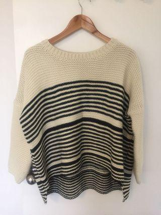 ELLY M Striped Jumper