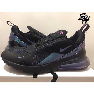 NIKE AIR MAX 270 炫彩 黑 紫 變色龍 AH8050-020