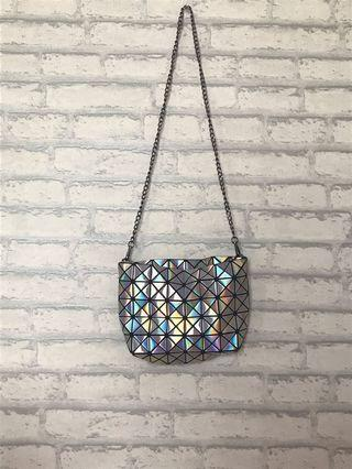 Geometric Rainbow Bag
