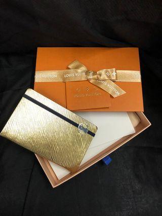 Louis Vuitton notebook