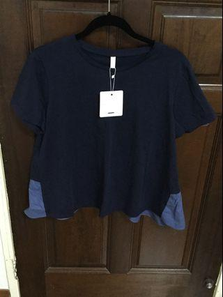 Korea Navy Blue TOP