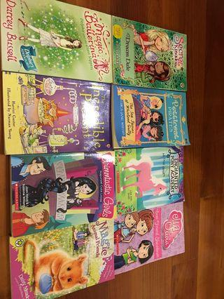 Story Books (8 Chapter Books)