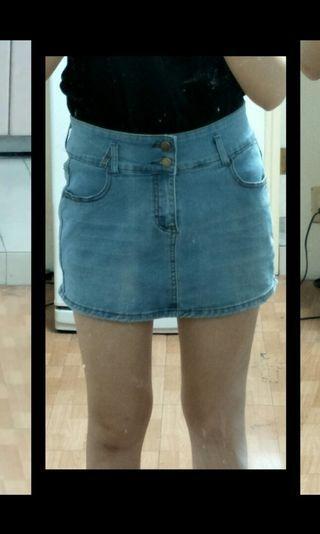 兩件式褲裙