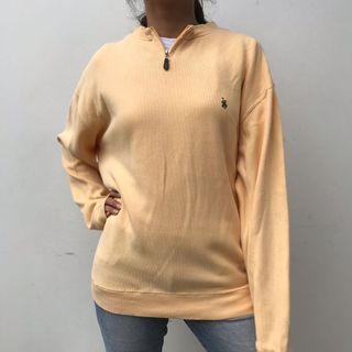 Yellow soft sweater