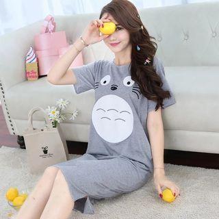 🍍INSTOCK🍍 PORORO sleepwear dress pyjamas