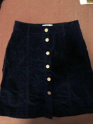 🚚 Button Down Skirt