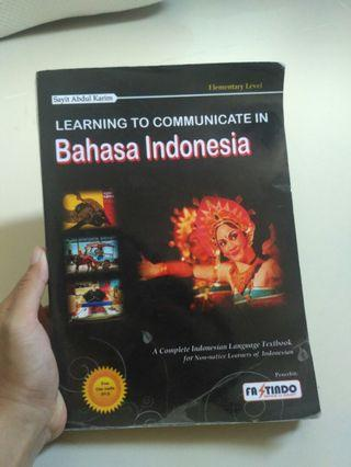 Buku Bahasa Indonesia untuk orang Asing