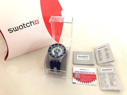 Selling Brand New Swatch Scuba Whale Ride Watch