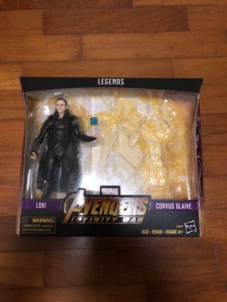 Marvel legends avengers Loki