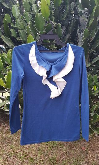 Blue Long Sleeve T-shirtt