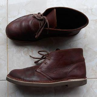 Sepatu Clarks Busachre 2 Chukka Boots Original size 41