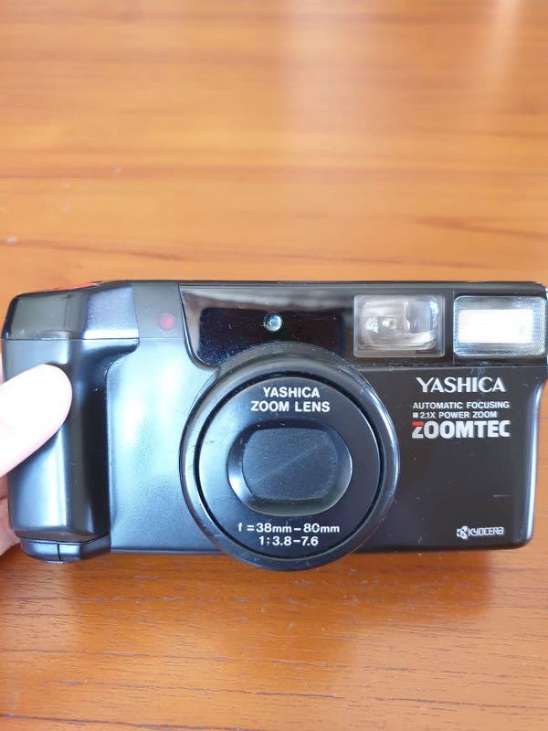 [1 LEFT] Yashica Zoomtec 35mm Film Camera
