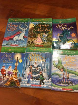 Magic Tree House 6 Books