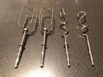 Hand mixer parts