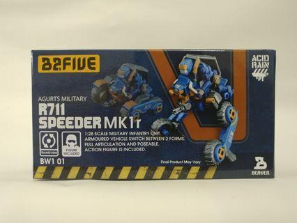 R711 Speeder MK1r Agurts Military 2.5吋 B2Five Acid Rain 酸雨戰爭 Wave 1