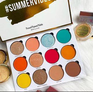 Give Me Glow Cosmetics Summer Vibes Eyeshadow Palette