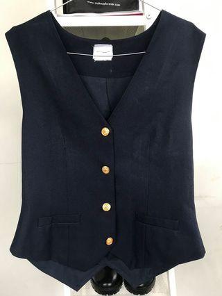 Vest Black fit to M