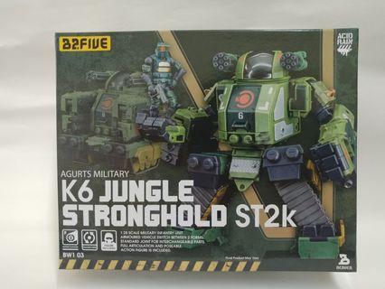 K6 Jungle Stronghold ST2k Argurts Military 2.5吋 B2Five Acid Rain 酸雨戰爭 Wave 1