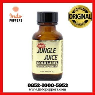 JUNGLE JUICE GOLD LABEL POPPERS ORI 30 ml