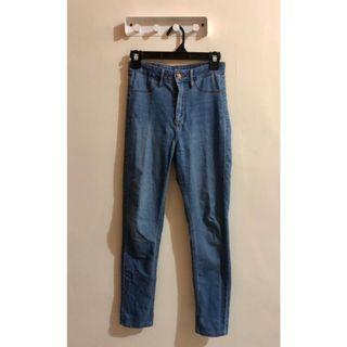 H&M skinny high waist ankle