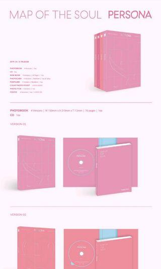 BTS MAP OF SOUL PERSONA