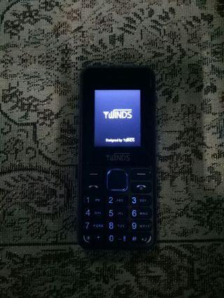 Wind phone blue colour with vga camera dual sim