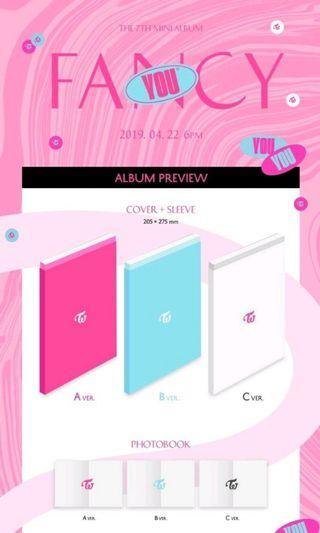 TWICE 7th Mini Album FANCY YOU