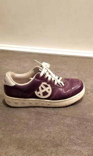 acupuncture violet sneakers