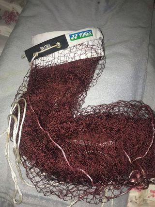 YONEX badminton netting