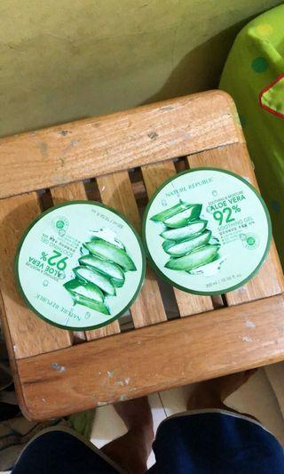 MURMER ambil 2 80k Nature Republic Aloe Vera Original