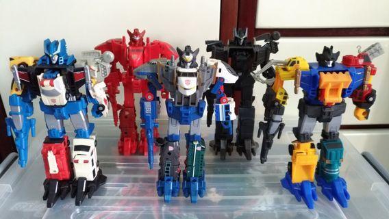 Transformers 變形金剛 戰隊盒蛋共5款