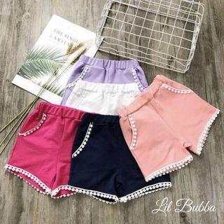 [Ready Stock] Children Shorts/ Girl Shorts/ Girl Pants/ Girl Bottom