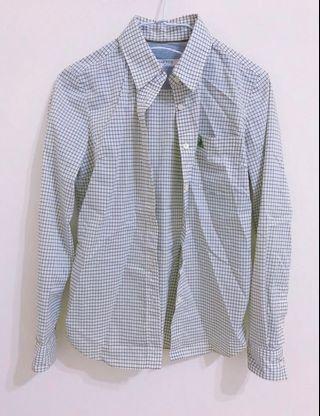 【#半價衣服拍賣會】正韓時尚品牌BEAN POLE文青格子襯衫二手價999元