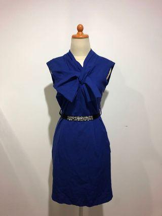 Valentino Blue Dress Premium Quality