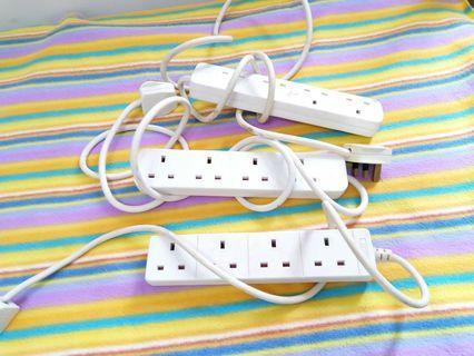 Extension cord 3pcs set