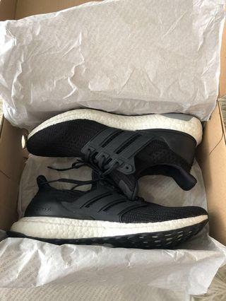 Adidas ultraboosts 4.0 black worn once