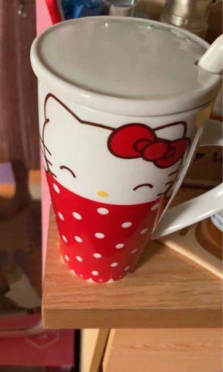 Hello kitty 陶瓷杯子