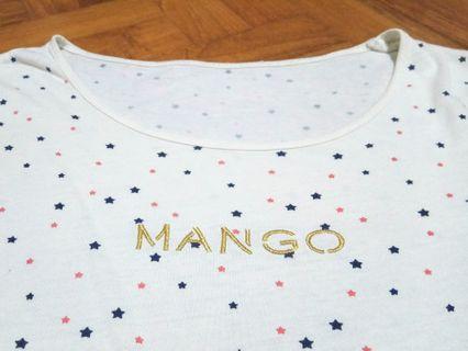 Mango Cotton shirt with stars !