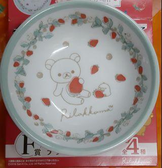 來自日本製鬆弛熊碟一隻