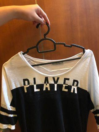 🚚 Graphic Tee baseball PLAYER tumblr