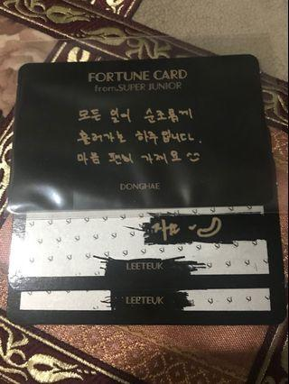 [WTT] SS7S Fortune Cards