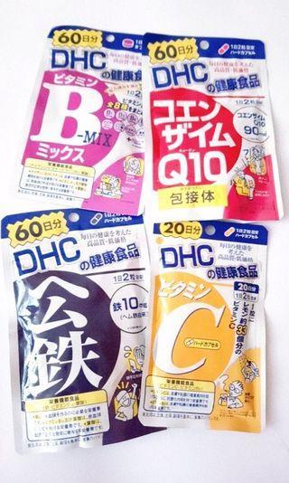 DHC健康食品(紅嫩鐵素&輔酶Q10 -2包)