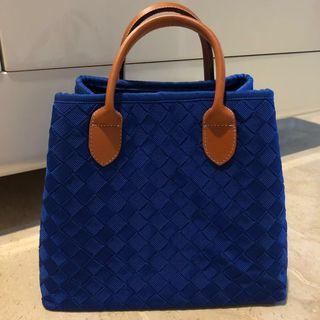 Electric blue small bag